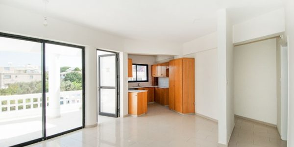 unfurnuted, kato paphos, apartment, rent, long term